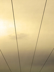 wires in sky