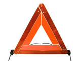 road warning triangle poster