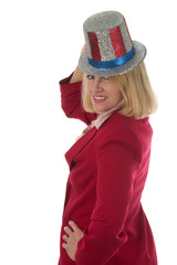 patriotic business woman 3