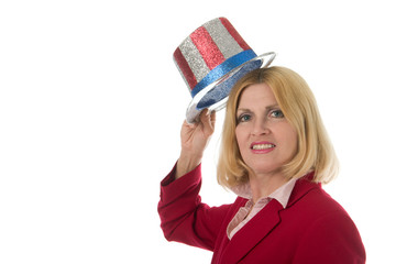patriotic business woman 2
