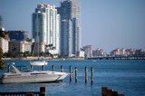 miami beach waterview poster