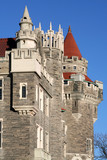 castle turrets poster