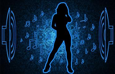 dances girl