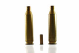 three used bullet casings