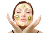 fruity face treatment poster