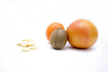 fresh fruits versus pills
