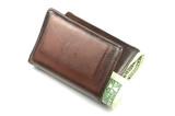 old brown wallet #1 poster