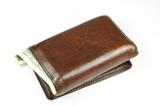 old brown wallet #4 poster