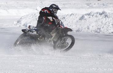 ice motorcycle racing