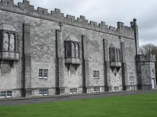 kilkenny castle inner yard