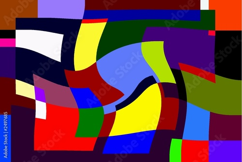 Panel Szklany shapes