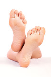 woman feet poster
