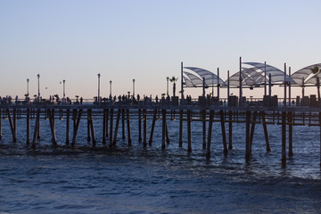 postcard from redondo beach california