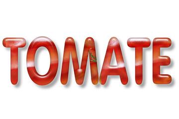 motiv-headline 3d: tomate