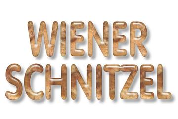 motiv-headline 3d: wiener schnitzel