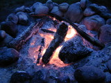 fire wood hot coal flame  firewood firepit poster