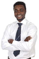 attractive african businessman