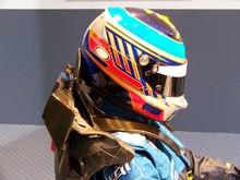 casque de pilote de f1
