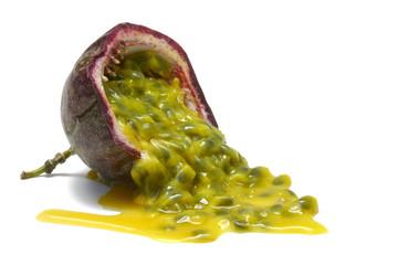 passionfruit half