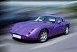purple sports car