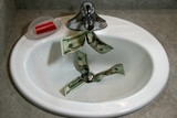 money down the drain 01