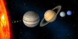 Fotoroleta solar system