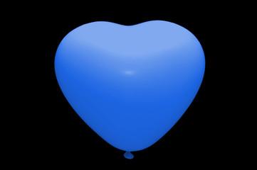 white baloon isolated