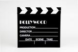 movie slate - clapboard - film marker poster