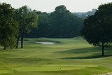 golf course fairway poster