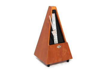 old wooden metronome