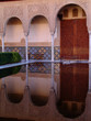reflejo en el palacio nazari