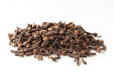 whole cloves spices in pile poster