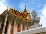 royal palace, phnom penh, cambodia poster