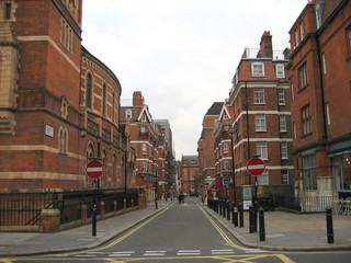 straße in london