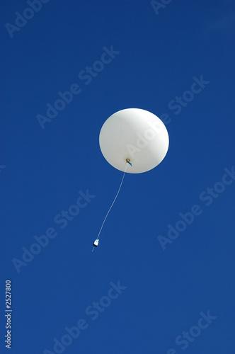 Leinwandbild Motiv weather balloon ascending