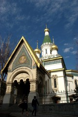 russian church st nikolay in sofia