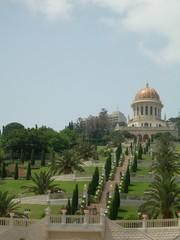 jardins du temple bahaï à haïfa
