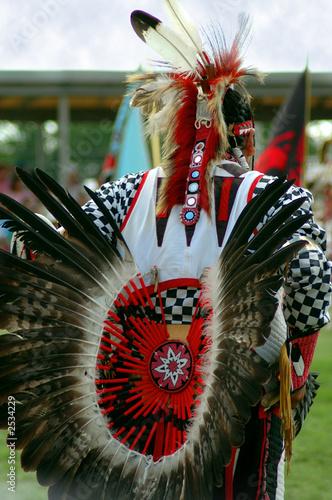 In de dag Indiërs dancing feathers