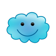 smiling cloud