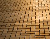 pavement in dusk lighting poster