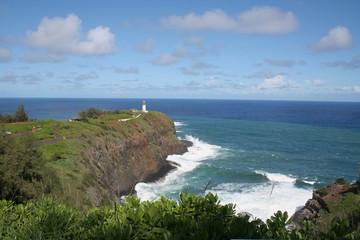 hawaii ligh house coast