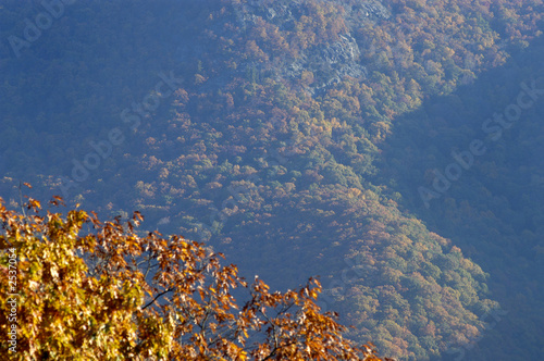 canvas print picture virginia blue ridge