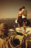 coppia al mare poster