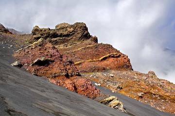 etna, rocce vulcaniche