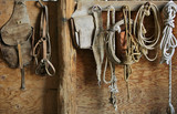 saddle and tack poster