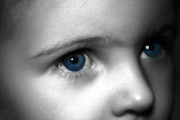my blue eyed gal