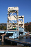 houghton vertical lift bridge poster