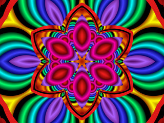 psychedelic flower power (fractal 40c)