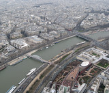 cityscape of paris poster