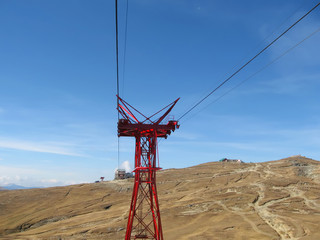 cable railway construction